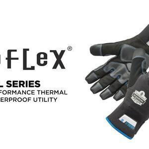 Ergodyne Product Video - ProFlex<sup>®</sup> 818WP Thermal Waterproof Winter Work Gloves w/ Tena-Grip<sup>™</sup>