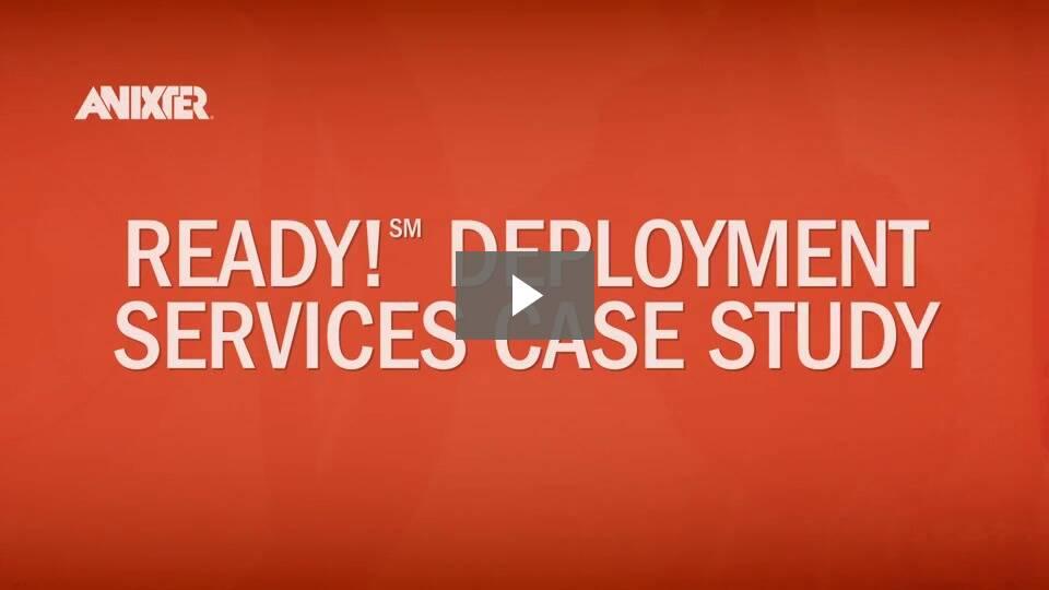 Data Center Ready Deployment Case Study Video