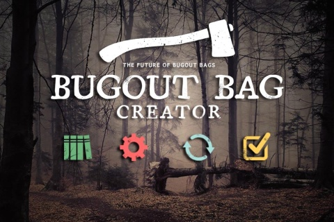 Bugout Bag Creator - solution for anyone interested in survival, prepping, camping, hiking or bushcraft.