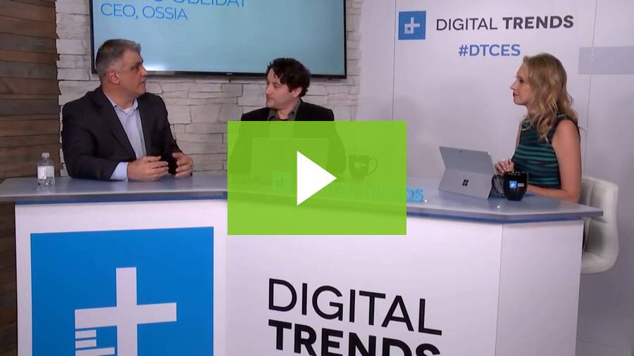 Live from CES 2018 - Mario Obeidat CEO of Ossia Digital Trends Interview