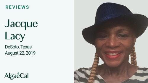 Testimonial thumbnail portrait of Jacque Lacy