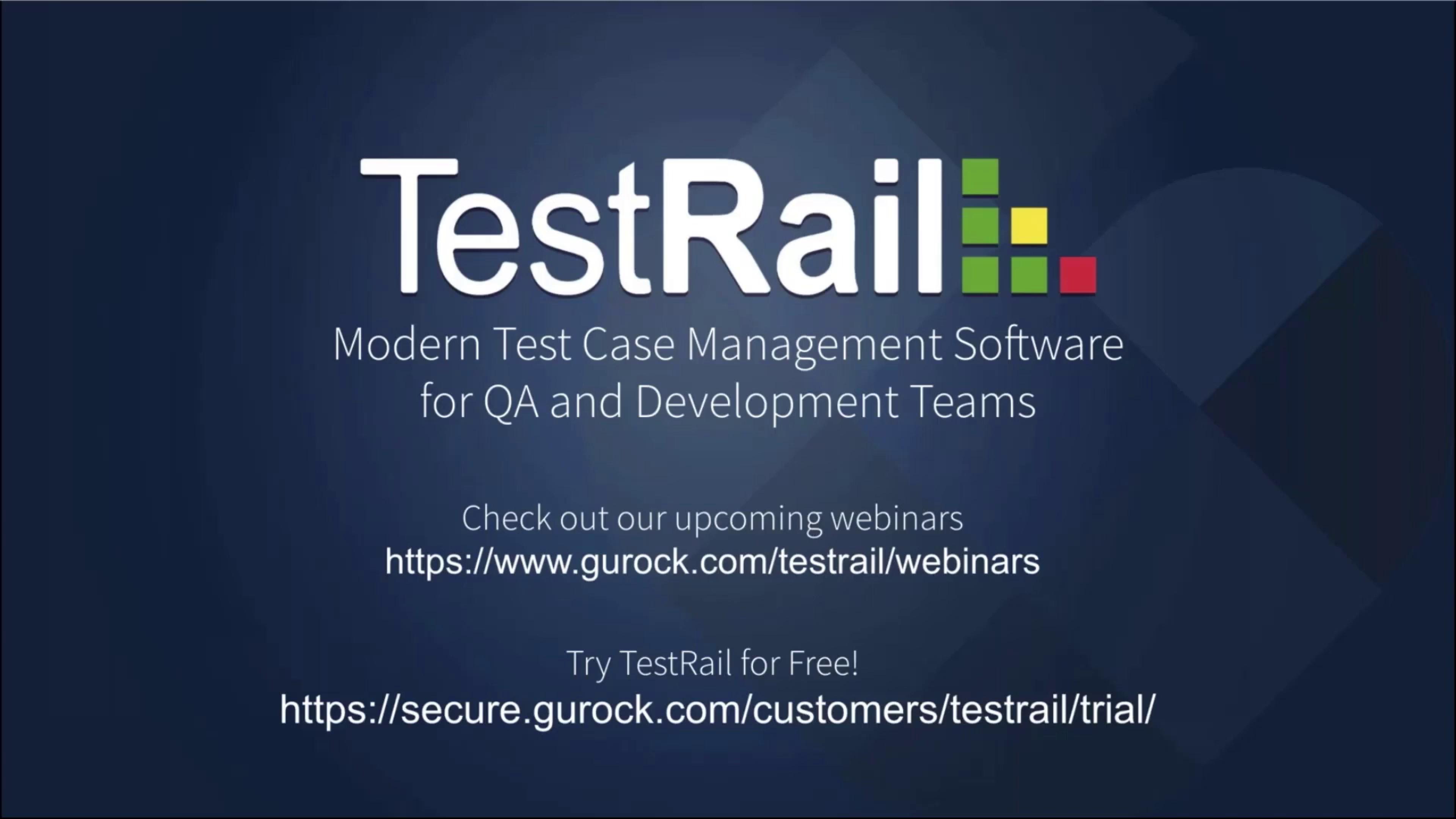 TestRail at TestBash Netherlands 2020