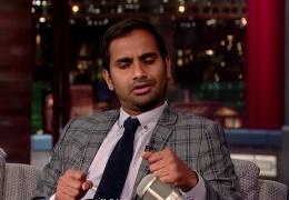 Aziz Ansari talks feminism on David Letterman  thumbnail