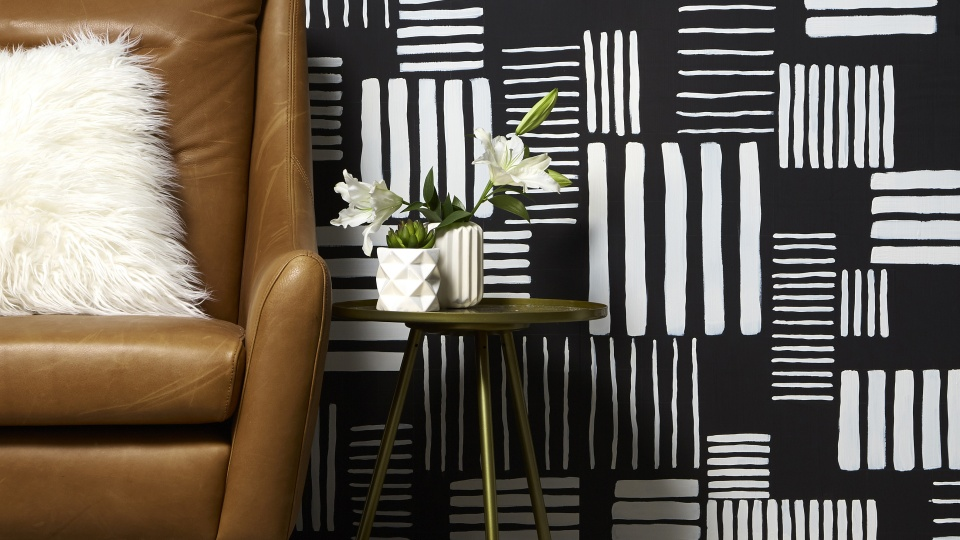 Our clever wallpaper hack