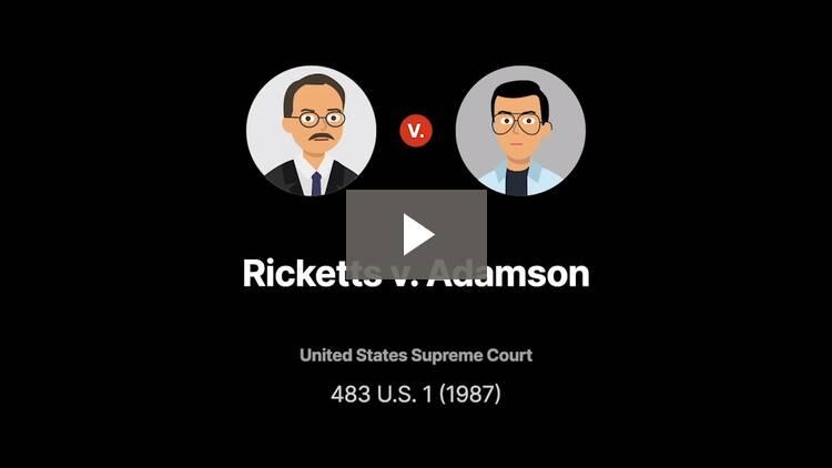 Ricketts v. Adamson