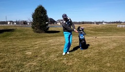 Test the Lie on Short Game Shots with Rehearsal Swings