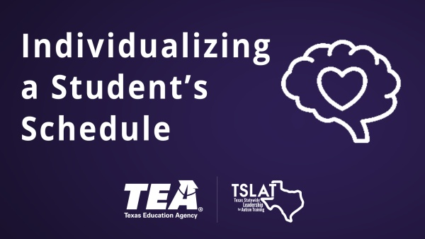Individualizing a Student's Schedule