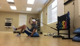 Core Exercises to Hit Long Drives