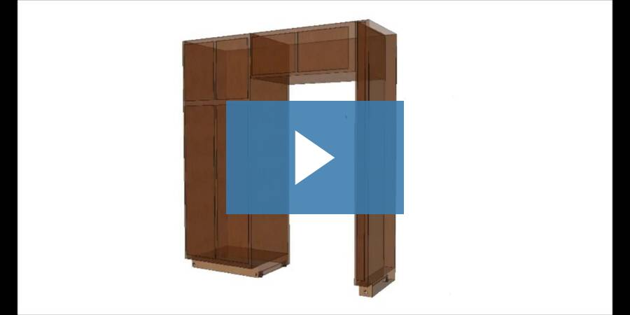 How To Install And Level Tall Cabinets - Pantries