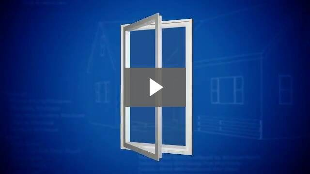 Video play button - opening a tall window