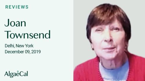 Testimonial thumbnail portrait of Joan Townsend