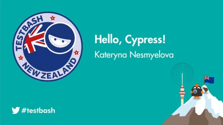Hello, Cypress! - Kate Nesmyelova