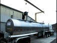 Inverted-L Fall Protection System - Tanker Truck Application
