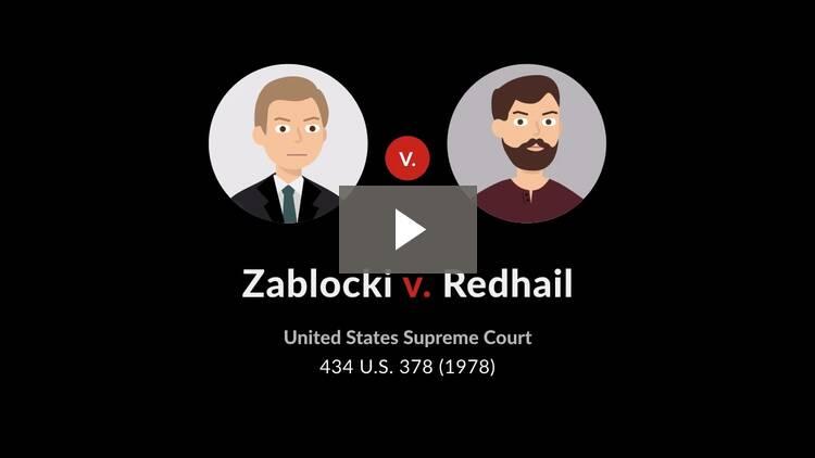 Zablocki v. Redhail
