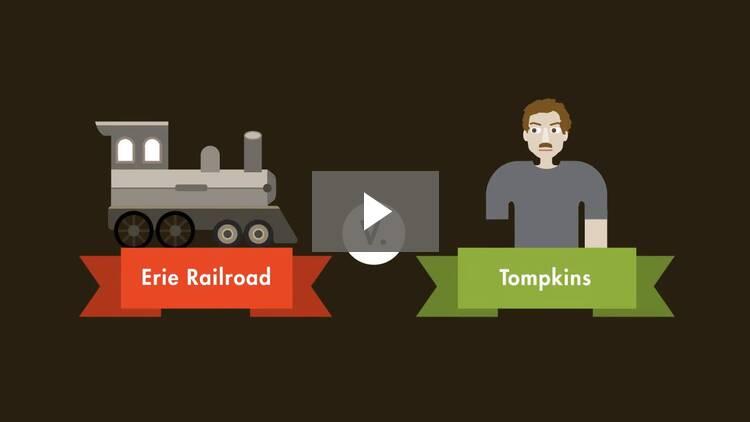 Erie Railroad Co. v. Tompkins