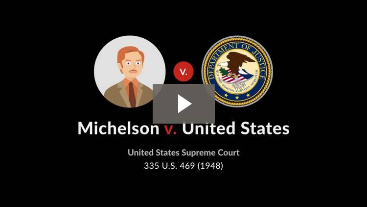 Michelson v. United States
