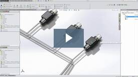 Harnessing in SolidWorks Electrical