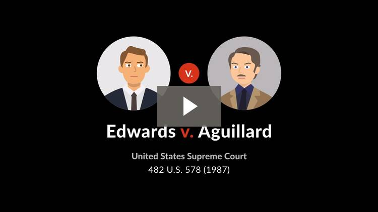 Edwards v. Aguillard