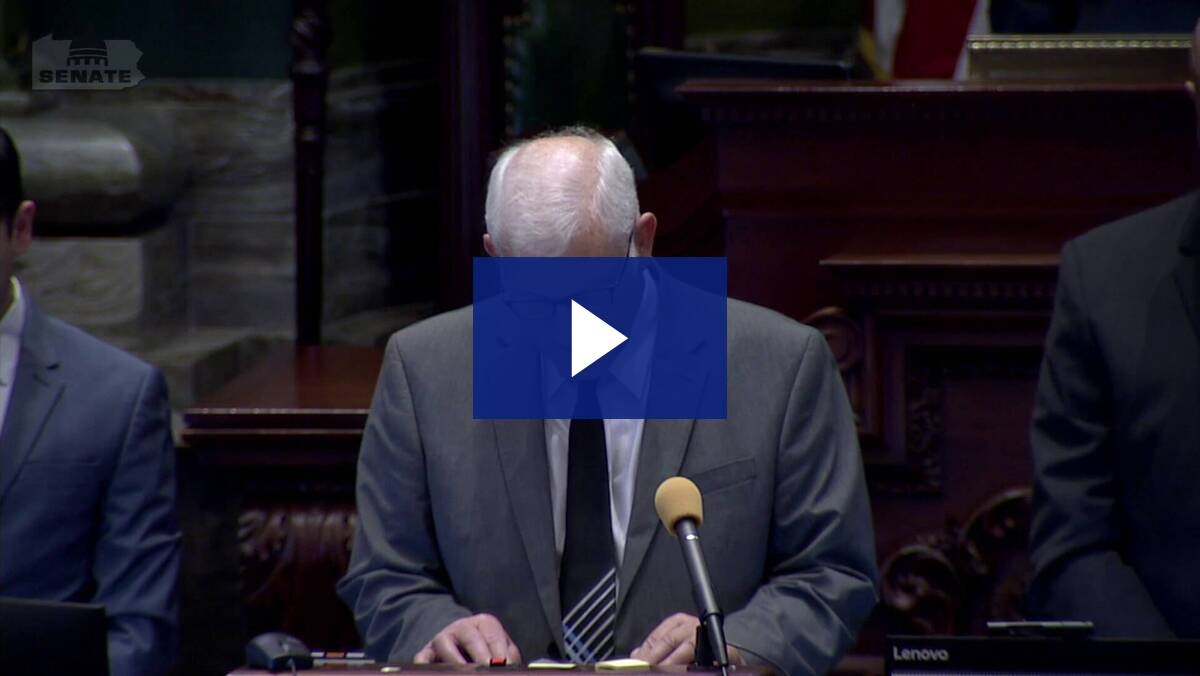 6/23/21 – Senate Guest Chaplain, Rev. Greg Wahlberg