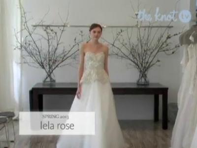 Nuevo top 10 en tendecias de vestidos de novia primavera 2013