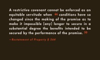 Restrictive Covenants III thumbnail