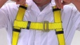 How to Put on a Rigid Lifelines Universal Deluxe Fall Protection Harness