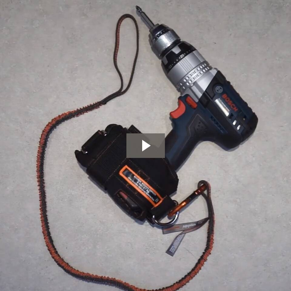Ergodyne Product Video - Squids<sup>®</sup> 3191 Power Tool Tethering Kit - 10lbs / 4.5kg