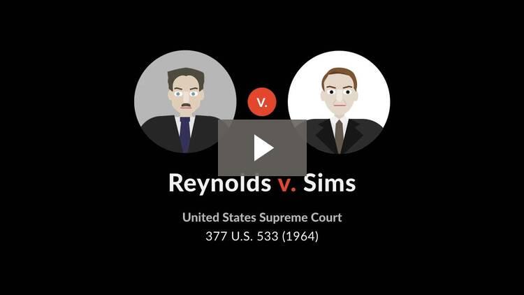 Reynolds v. Sims