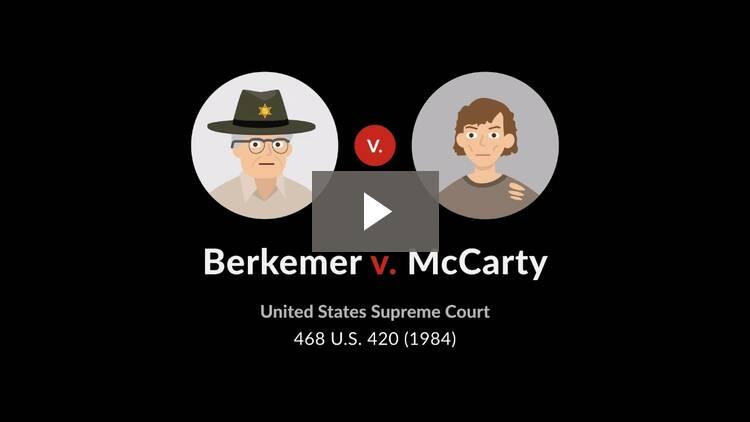 Berkemer v. McCarty