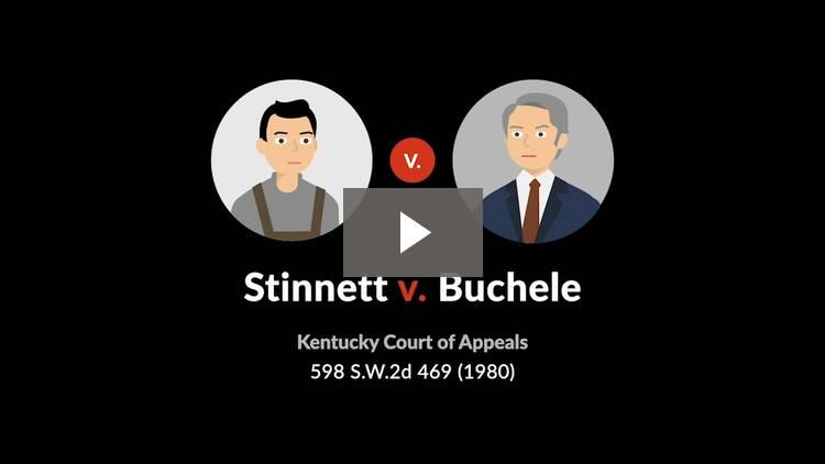 Stinnett v. Buchele