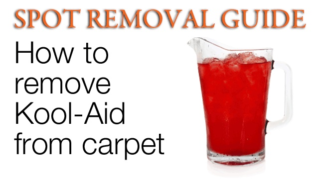 How To Remove Kool Aid Stains From Carpet Method 1