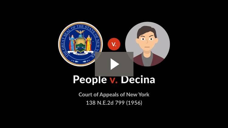 People v. Decina