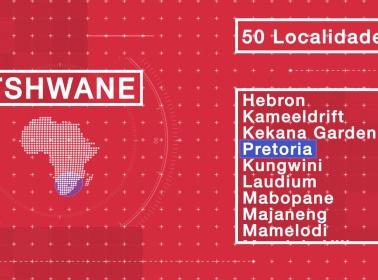 Sistema de gestión de tráfico pionero en Tshwane.