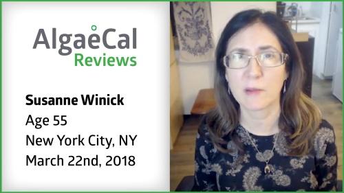 Testimonial thumbnail portrait of Susanne Winick