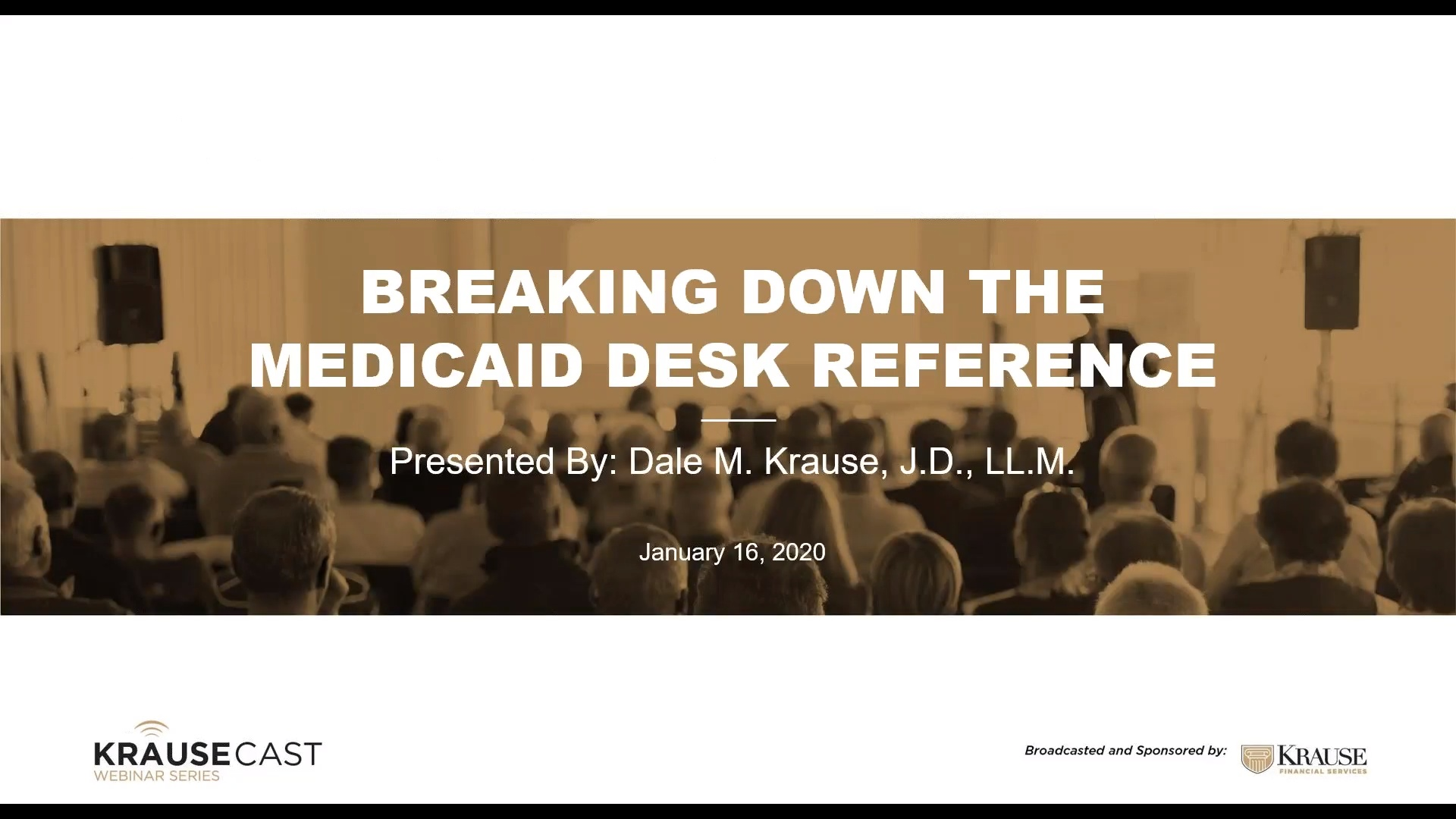 Breaking Down the Medicaid Desk Reference