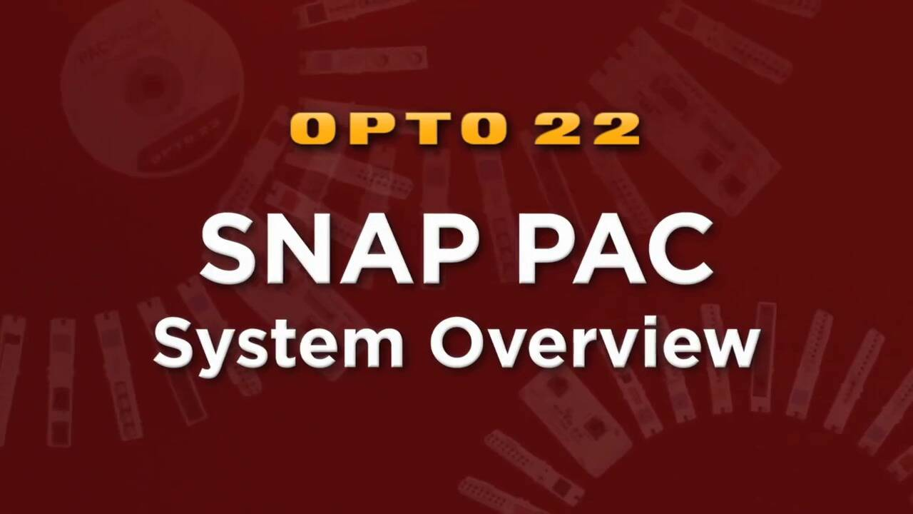 SNAP PAC System Overview