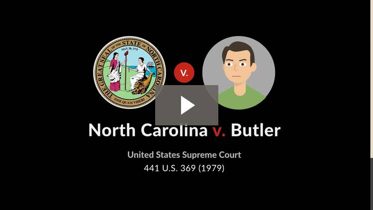 North Carolina v. Butler