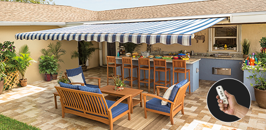 Awesome SunSetter Awnings
