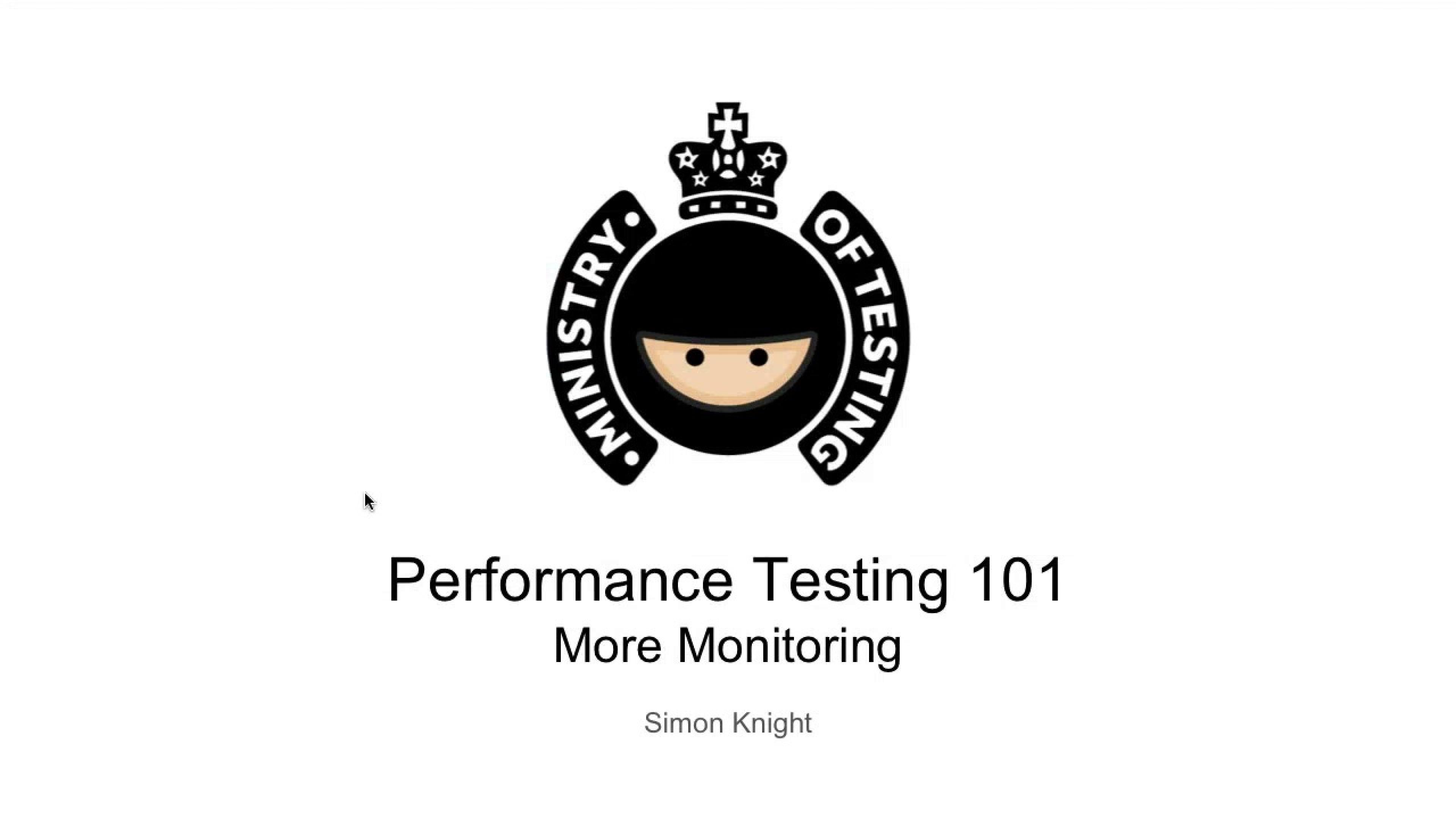 More Monitoring