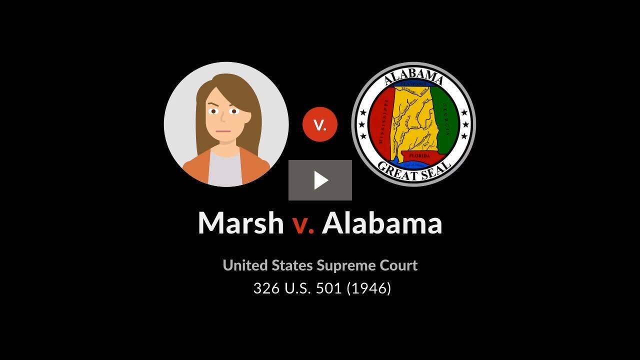 Marsh v. Alabama