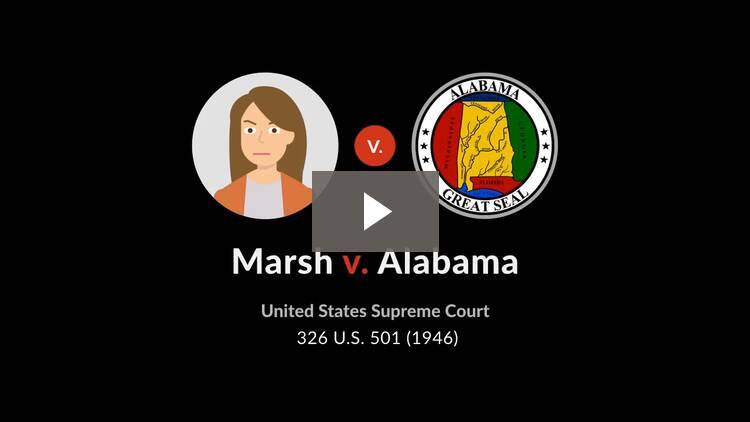 Marsh v. Alabama