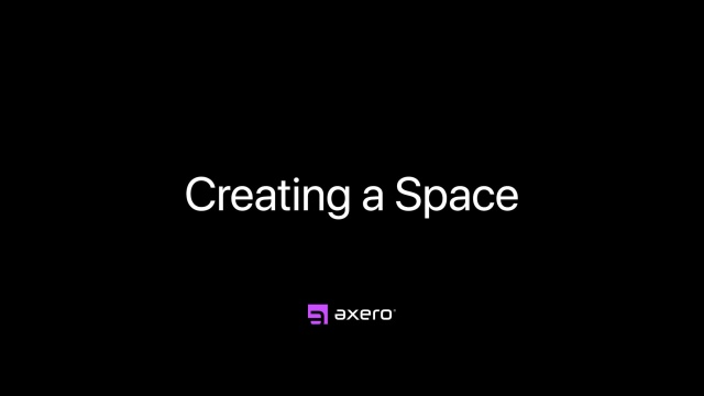 Creating a Space