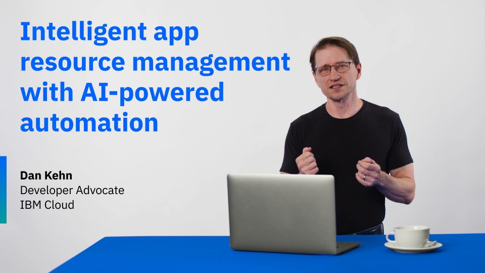 Intelligent app resource management with AI-powered automation
