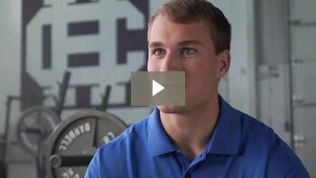 Kirk Cousins works with NeurocorePro