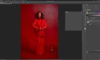 Thumbnail for In Studio Shoot / Monochromatic Retouch
