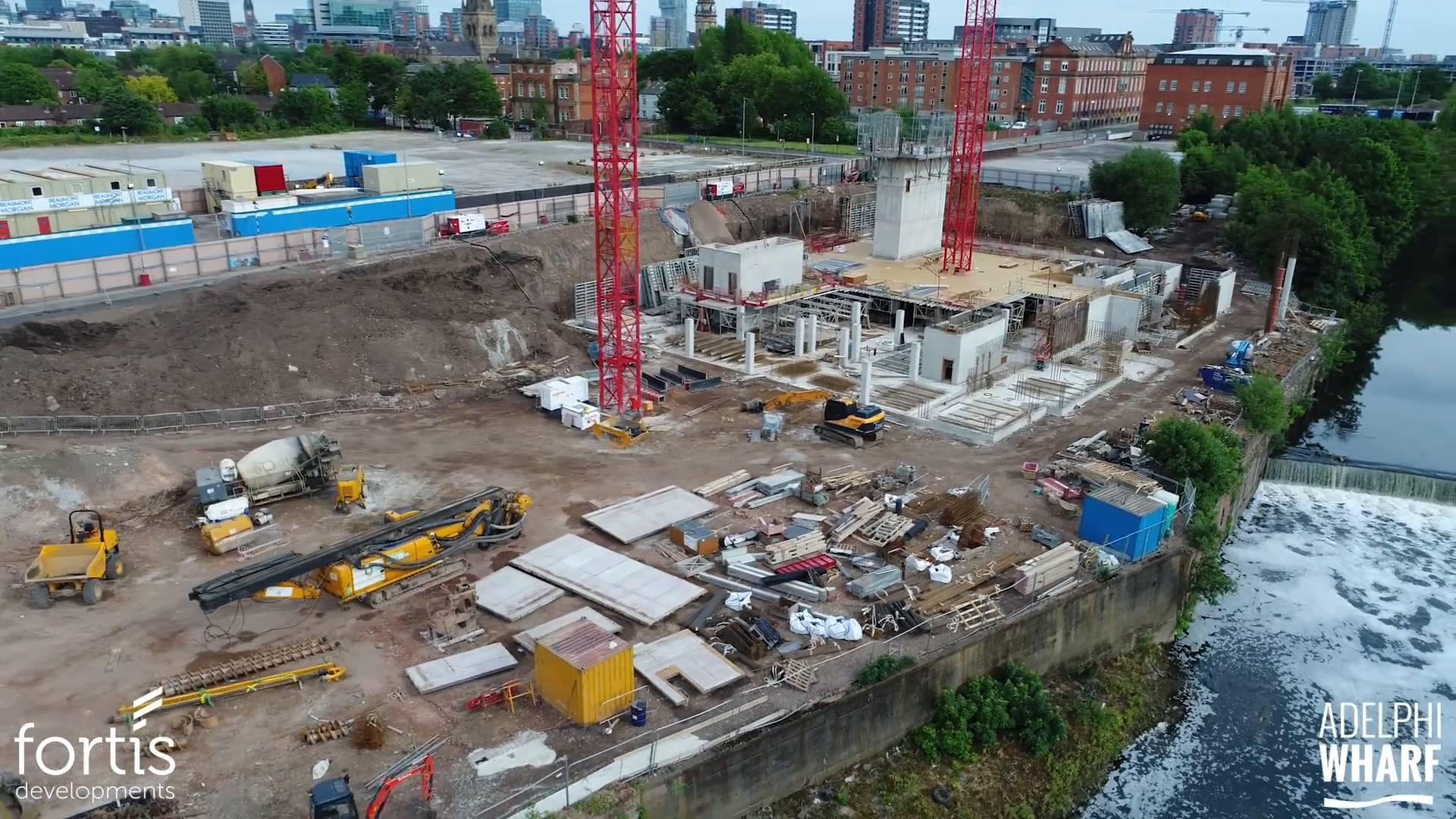 Adelphi Wharf Phase 3 - Drone Footage - June 2017