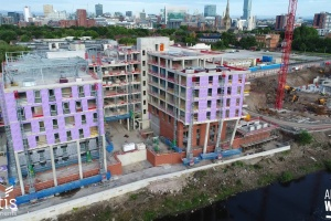 Adelphi Wharf Phase 1 and 2 - Drone Footage - July 2017