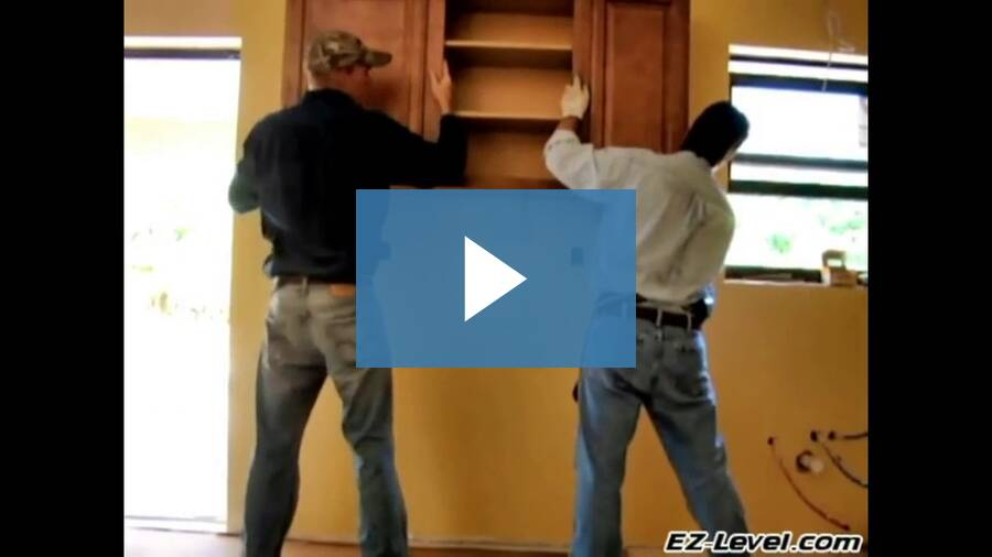 How To Install Kitchen Cabinets - Part 3 of 6