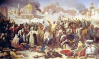 Why did Pope Urban II launch the First Crusade?