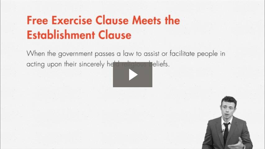 Permissible Government Accommodation of Religious Exercise
